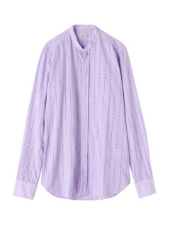 ベヴィラクア(Bevilacqua)のBevilacqua Dot Stripe Patterned Shirts SHIRTS / シャツ